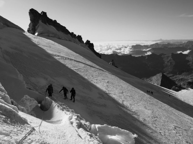 Gran Paradiso Summit slope