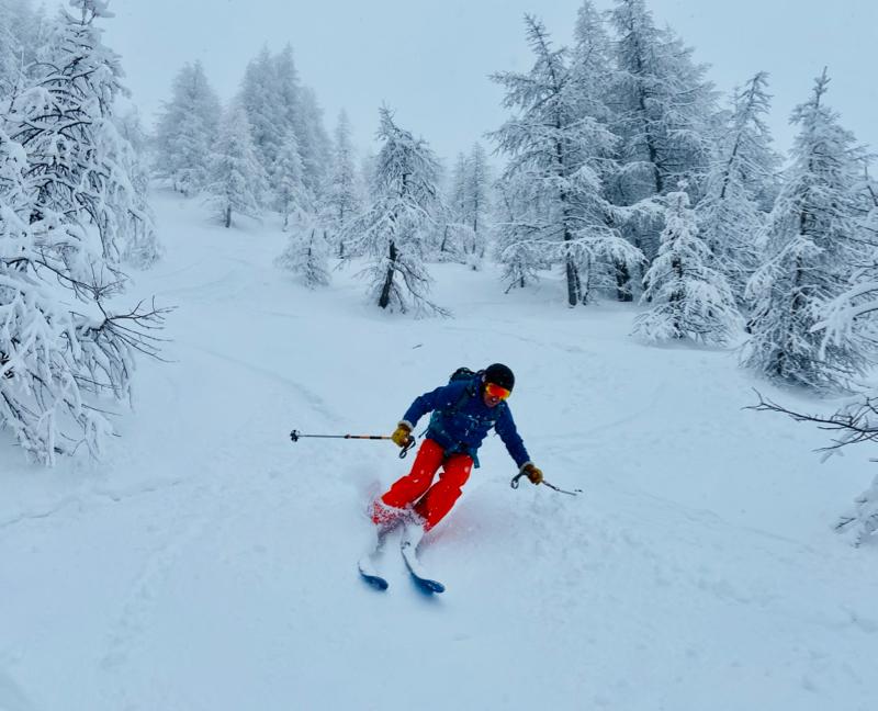 Courmayeur Off Piste Skiing