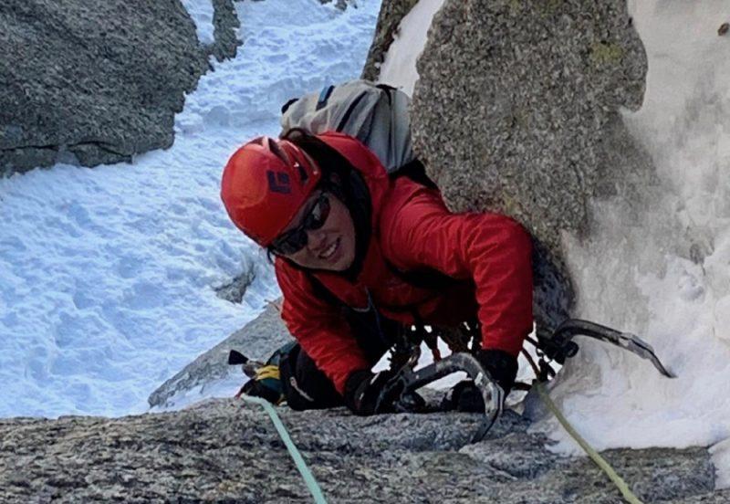 Mixed climbing Chamonix