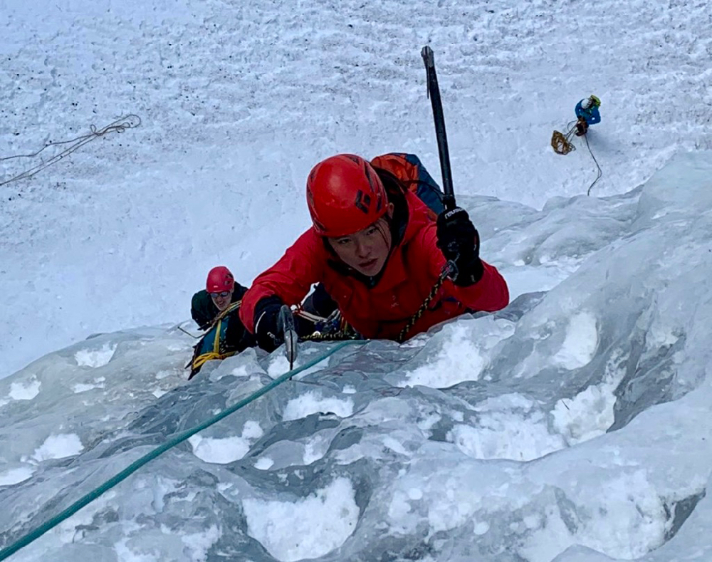 Chamonix Ice & Mixed Climbing, Jan 2020