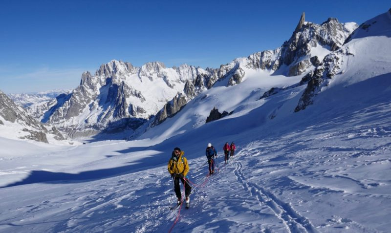 Ski Touring Vallee Blanche