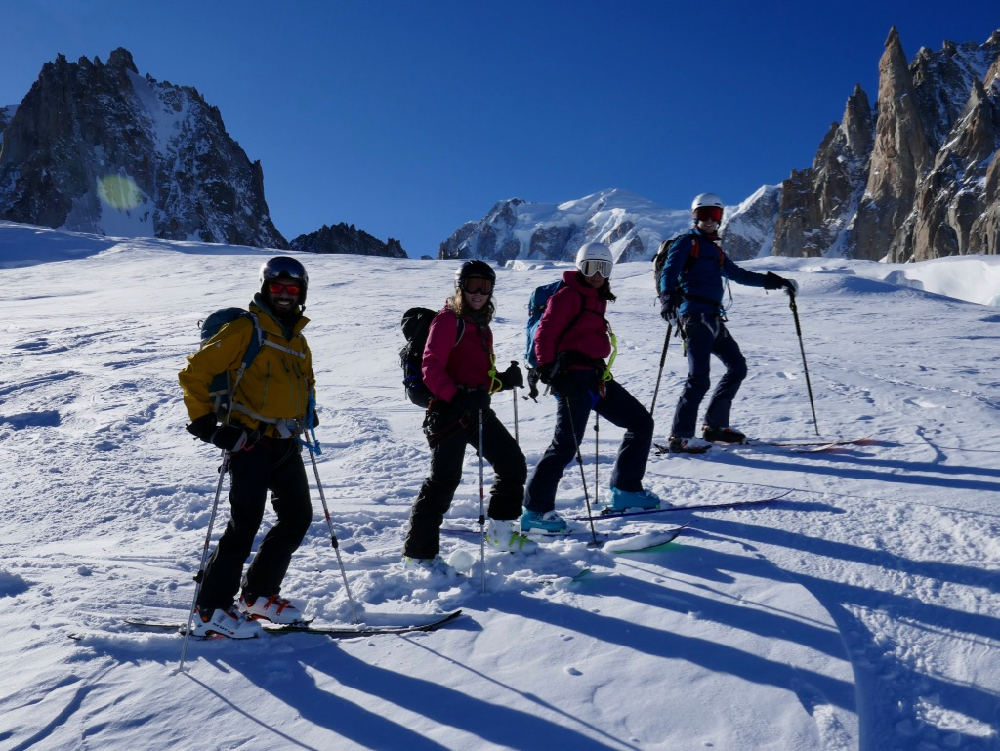 Jan 2020 Chamonix Intro Ski Touring Weekend