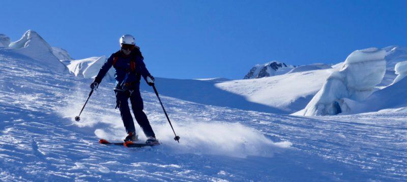 Glacier Skiing