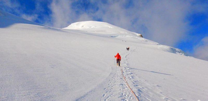 Climbing The Bishorn