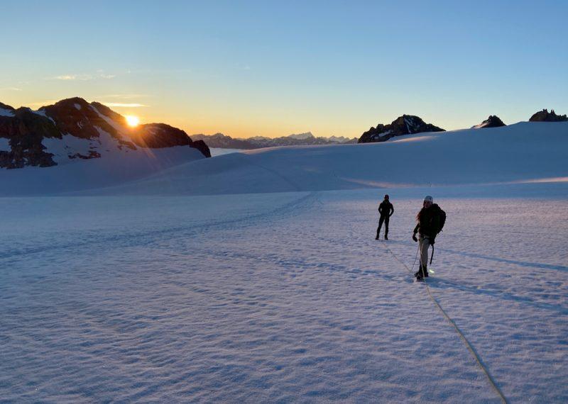 Chamonix glacier walk