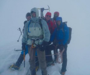 Summit of The Breithorn