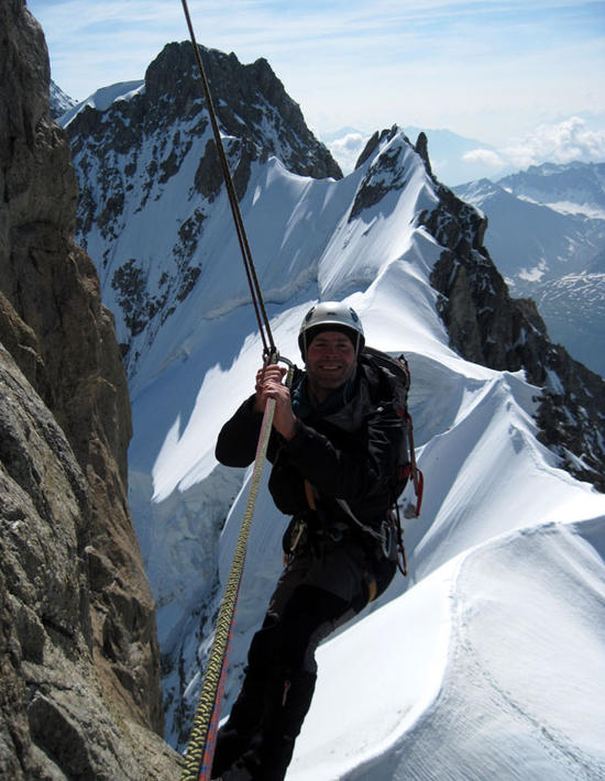 Dent Du Geant 4013m High Mountain Guides