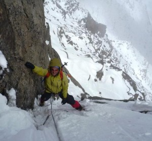 An Avoidable But Enjoyable Section of the Aiguilles Marbrees Main Ridge Traverse