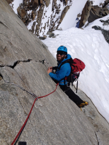 Dry Conditions On The Fine Crux Cracked Slab Wall