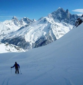 Away From the Crowds in The Combe Gliere Brevent  Flegere Chamonix