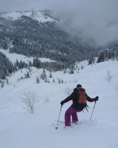 Mid Winter Off Piste Skiing at Combloux Aravis