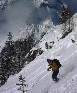 Sun and Powder Skiing Early Winter at Courmayeur