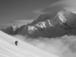 A Superb Position At The Western End Of The Mont Blanc Range