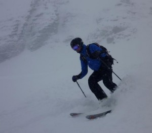 Brilliant Powder on the St Nicholas De Veroce Side of Mont Joly
