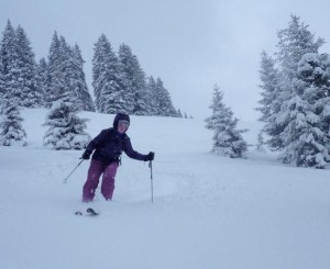 Excellent Early Season Powder At St Gervais and  Megeve