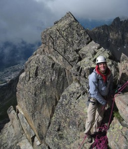 Rock Climbing in the Aiguilles Rouges