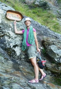 Jenny Uses Alpine Craft and Cunning to Find the Bottom of the Route