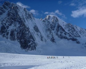 The Magnificent High Alpine Scenery of the Argentiere Basin (1)
