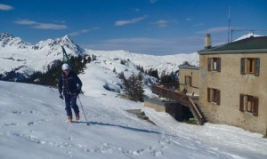 After A Hospitable Brew At The Tre La Tete Hut A Short Ascent Up To The Mauvais Pas