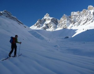 The Fine Skinning Ascent to the Quatre Tete