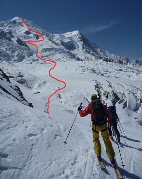 Ski mont blanc high mountain guides - Chamonix mont blanc office du tourisme ...
