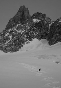 Fun Powder Turns Beneath The Dent Du Geant