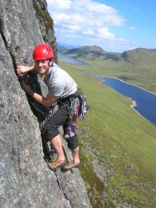 Spring Rock Climbing in the Scottish Highlands