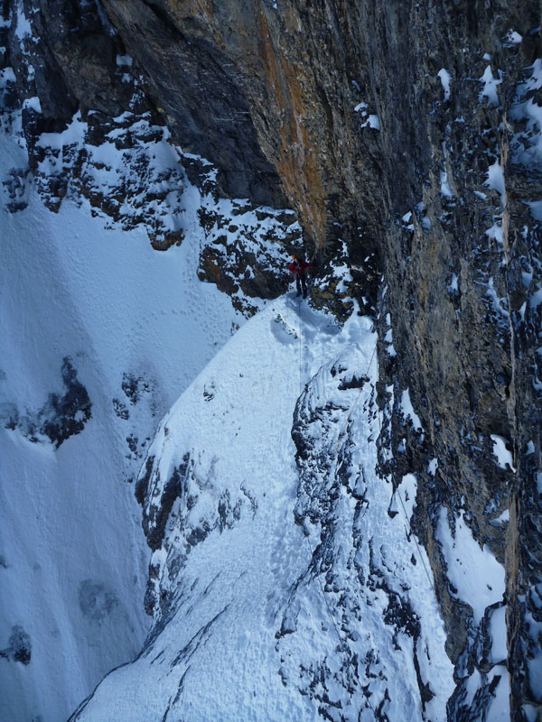 North face of the eiger high mountain guides the brittle ledges north face of the eiger reheart Choice Image