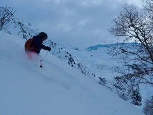 Superb Chamonix Powder Skiing At Balme