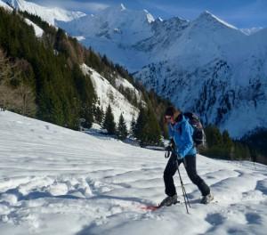 Transceiver Training In The Scenic Meadows Below Col De Voza