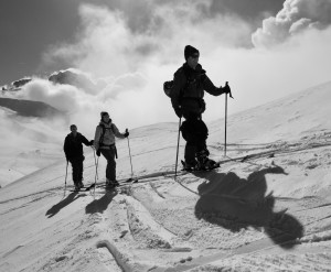 Ski Touring Ascent Of The Tete De Balme