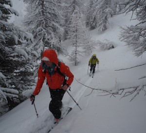 Pila Powder Touring...In April!