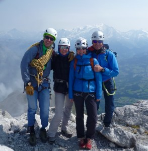 Superb Views & Early Autumn Ambiance On Pointe Percée Summit, Aravis